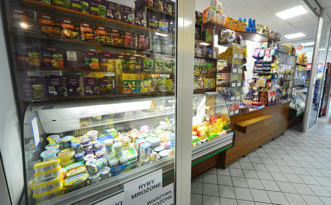 Artykuły nabiałowe i spożywcze